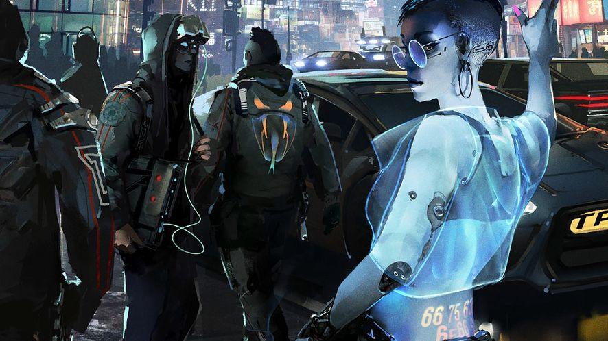 Okładka Cyberpunk RED - nowej edycji kultowego systemu RPG