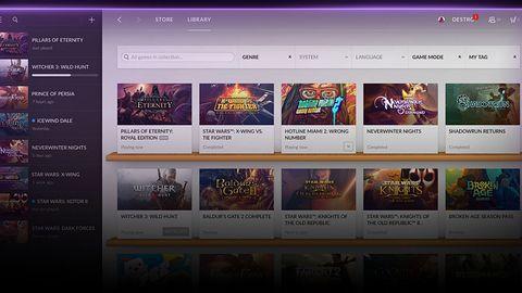 GOG Galaxy już dla każdego, zobacz jak platforma wypada w porównianiu ze Steam