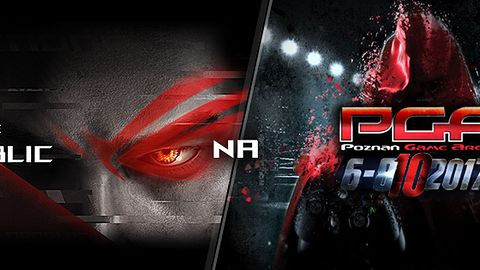 ASUS Republic of Gamers na Poznań Game Arena 2017