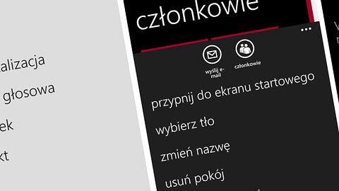 """Microsoft rezygnuje z funkcji """"Pokoje"""" w Windows Phone"""