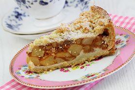 Włoski placek z jabłkami
