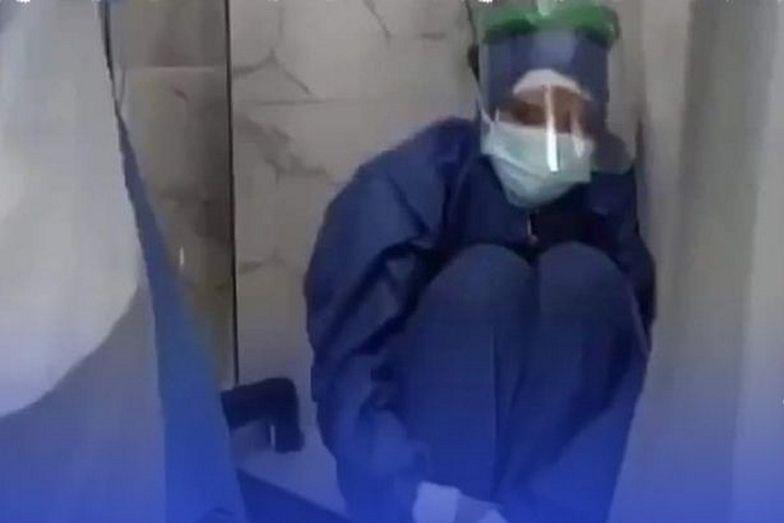 W szpitalu zabrakło tlenu. Pacjenci zmarli. Przerażające nagranie z Egiptu
