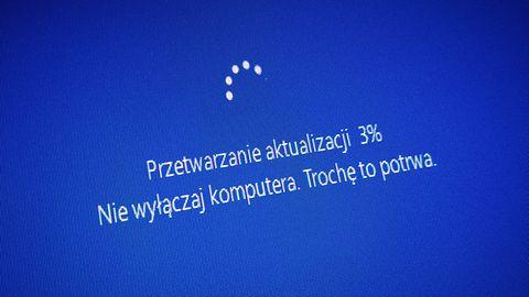 Windows 10 i kłopotliwa aktualizacja. Microsoft potwierdził problemy z instalacją