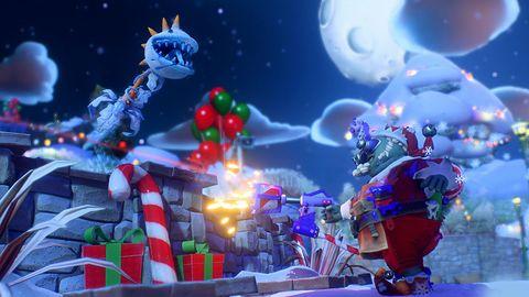 Wesołego Świątecznika w Plants vs Zombies: Bitwa o Neighborville!