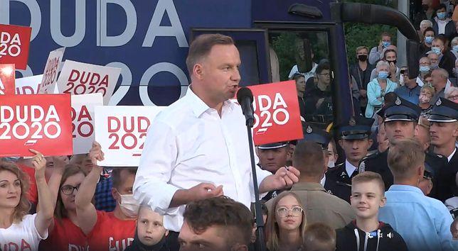 """Wybory 2020. Ostatnie dni kampanii. Wyścig """"łeb w łeb"""" (Relacja na żywo - 7 lipca)"""