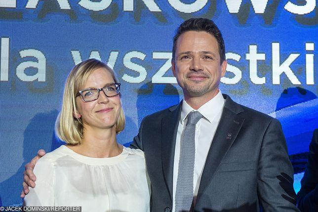 Żona Rafałą Trzaskowskiego pracuje w stołecznym ratuszu