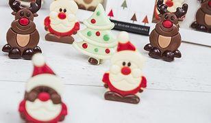 Piękne figurki, które aż szkoda zjeść – słodki prezent na mikołajki