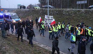 Protest rolników na trasie S8 w połowie grudnia