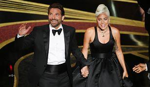 Bradley Cooper i Lady Gaga na oscarowej scenie.