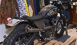 Ducati Scrabler. Niesamowita przeróbka motocykla