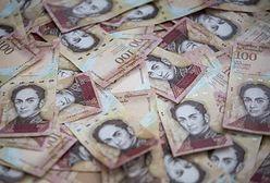 Prezydent Wenezueli walczy z mafią. Wycofuje banknot o nawyższej wartości