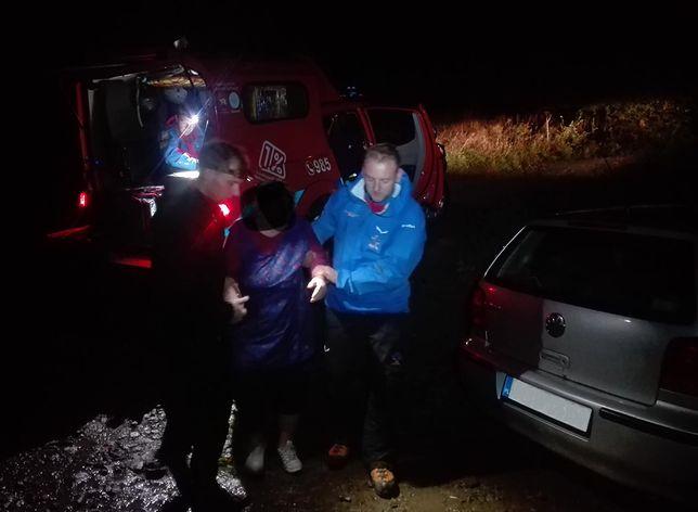 Mieszkanka Mikołowa została znaleziona przez ratowników GOPR na szlaku Krzeszów - Leskowiec