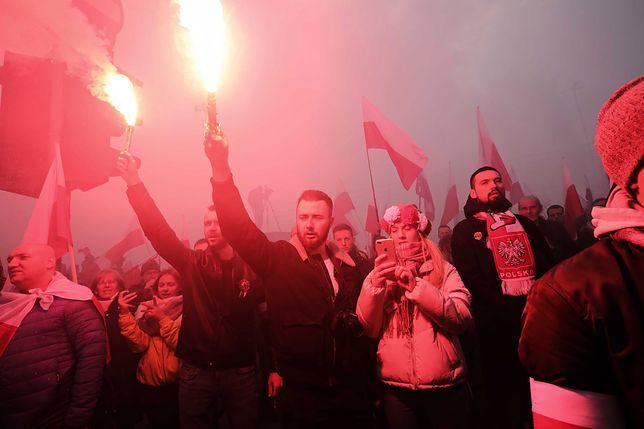 Marsz Niepodległości 2019 przeszedł ulicami Warszawy