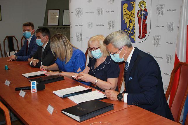 Ruda Śląska. Władze miasta podpisały umowę na budowę kolejnego odcinka N-S.