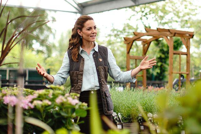 Kate Middleton odwiedziła centrum ogrodnicze w Norfolk