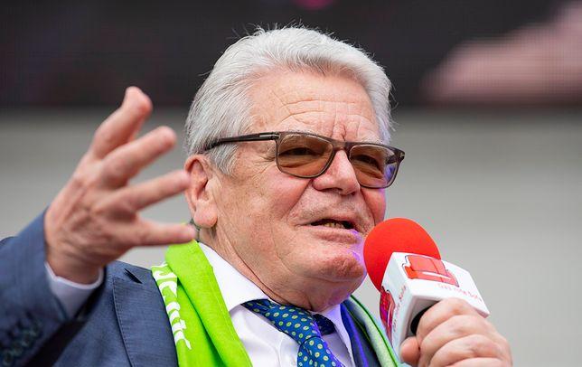 Były prezydent RFN Joachim Gauck (zdj. arch.)