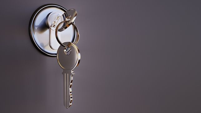 Ruda Śląska. Policjanci przypominają, by zawsze zamykać drzwi wejściowe na klucz.