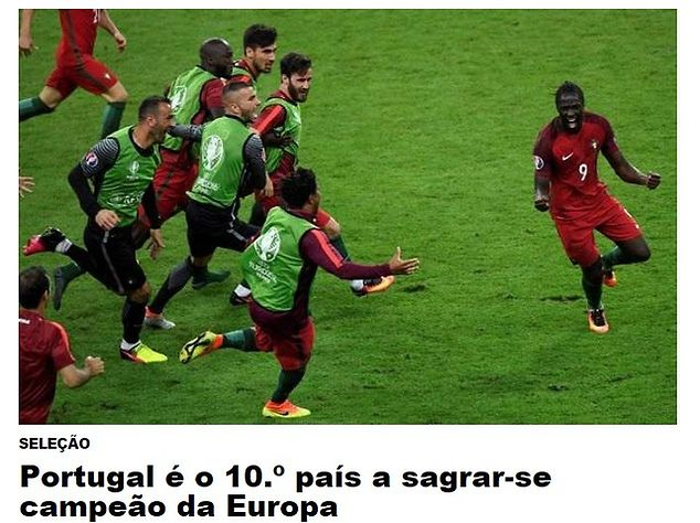 Euro 2016. Portugalskie media  Przezwyciężyliśmy wszelkie trudności ... 9e548ed0445b2