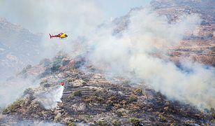 Hiszpania. Ogromny pożar w turystycznym regionie