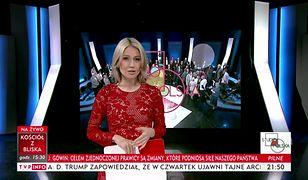 Magdalena Ogórek w TVP Info wytykała rezydentom, że wypili latte w kawiarni, a później poszli na protest.
