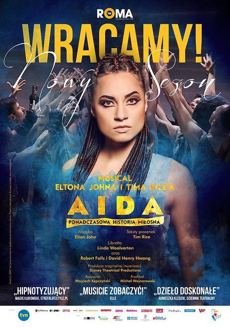 """""""AIDA"""" ponownie w Teatrze Muzycznym Roma"""