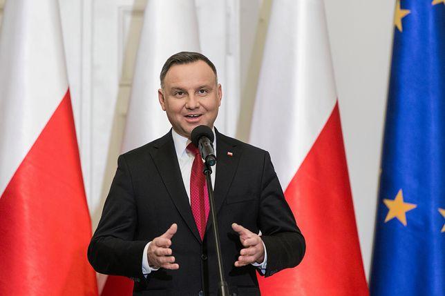 Przewaga Andrzeja Dudy wyniosła 25 pkt proc.