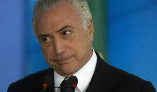 Brazylijski prezydent oskarżony o korupcję. Może jednak spać spokojnie