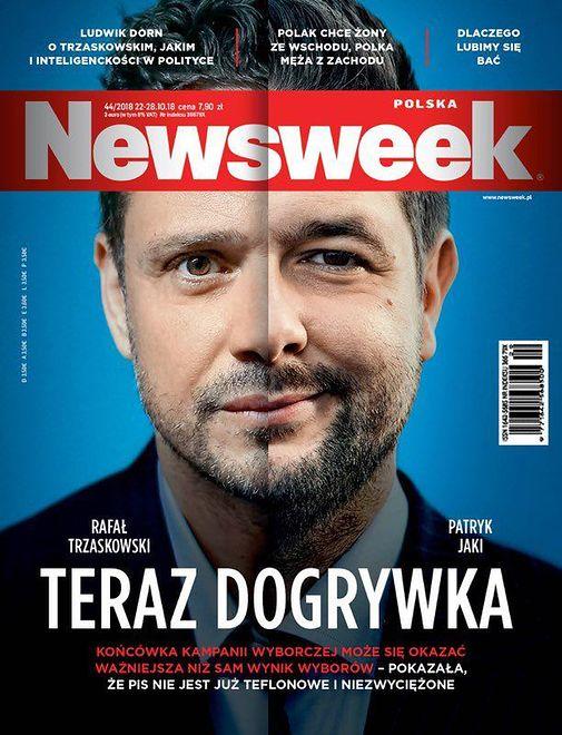 """Tomasz Lis nie docenił Trzaskowskiego. Naczelny """"Newsweeka"""" przeprasza czytelników"""