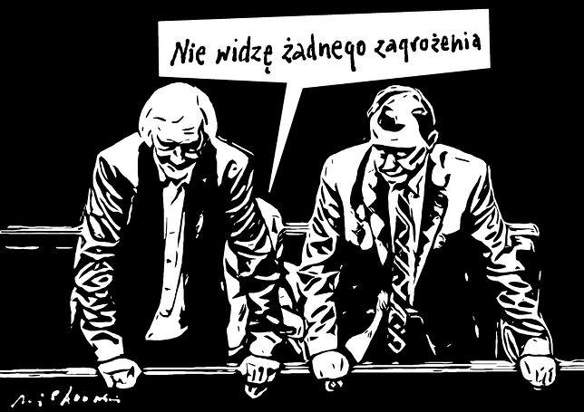Lider PiS Jarosław Kaczyński nie widzi zagrożenia ze strony nowej partii