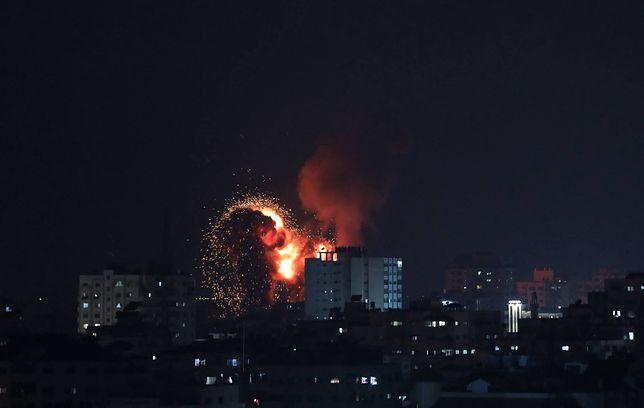 Bombardowanie w Strefie Gazy. Wśród ofiar dzieci