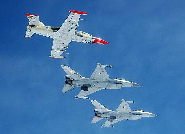 Ponad 100 interwencji myśliwców NATO nad krajami bałtyckimi