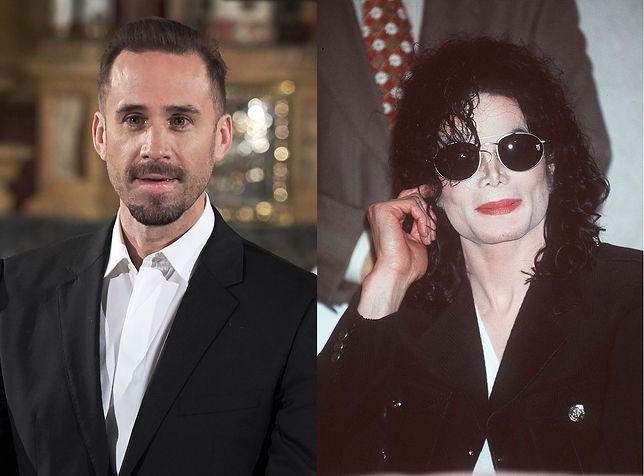 Joseph Fiennes i Michael Jackson