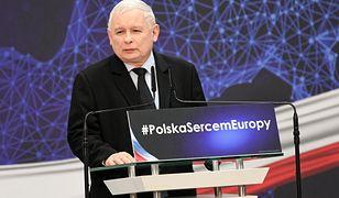 Prezes PiS przemawiał w Lublinie