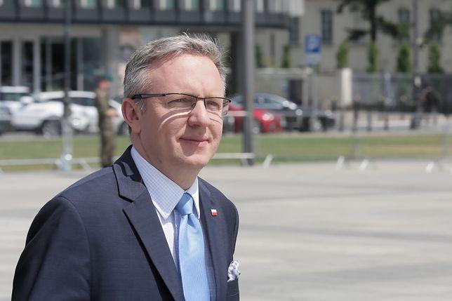 Ponad 600 tysięcy na zagraniczne podróże służbowe ministra Krzysztofa Szczerskiego