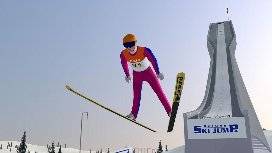 Adam Małysz wrócił na skocznię w Deluxe Ski Jump. Zagraj i ty!