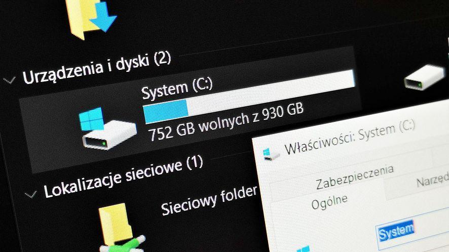 Ciemny motyw trafił do Eksploratora Windowsa 10 w 2018 roku, fot. Oskar Ziomek