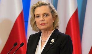 Pełnomocniczka ds. dialogu międzynarodowego przez pół roku wyjechała 10 razy za granicę i 6 razy podróżowała po Polsce