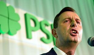 Kosiniak-Kamysz chce odwołania Kurskiego z funkcji prezesa TVP. Utworzył petycję