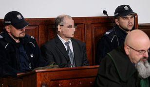 Ginekolog Monzer M. na sali Sądu Rejonowego w Zabrzu