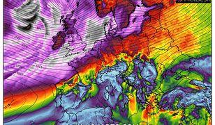 Pogoda. W poniedziałek nad ranem silne porywy wiatru odczujemy w całej Polsce