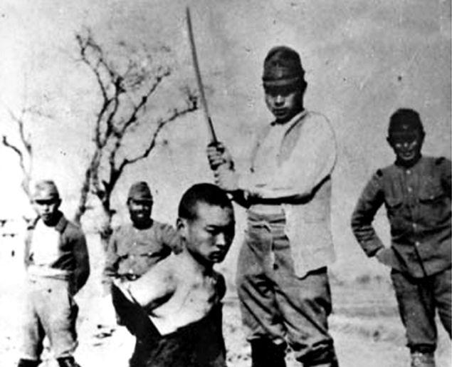 Rzeź w Nankinie - japońska zbrodnia w Chinach
