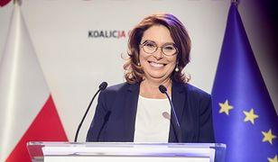 Małgorzata Kidawa-Błońska na konwencji programowej Koalicji Obywatelskiej 6 września