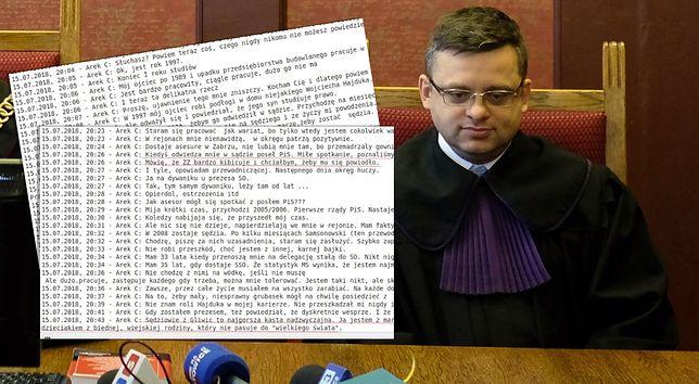 """Afera w resorcie sprawiedliwości. Mamy stenogram rozmowy sędziego z """"Emi"""""""