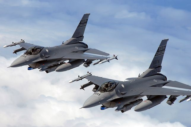 F-16 to najlepsze myśliwce w naszej armii