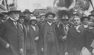 Wincenty Witos z wizytą w Grudziądz, czerwiec 1925