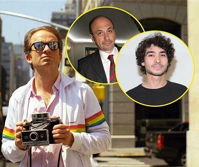 Analogowy wizjoner. Na zdjęciu Florian Kaps, Wiaczesław Smołokowski i jego syn, Oskar