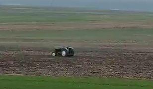 Krasnystaw. Spektakularny pościg pijanego rolnika za ciągnikiem