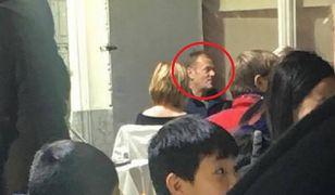 Donald Tusk bez ochroniarzy w restauracji