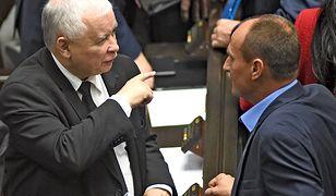 Jarosław Kaczyński i Paweł Kukiz mogą wprowadzić łącznie do Sejmu nawet 286 posłów