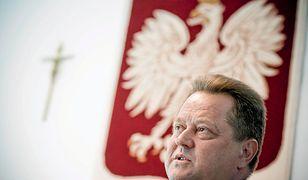 Jarosław Zieliński ma posesję chronioną przez suwalską policję. Uzasadnienie - zbrodnia sprzed dekad